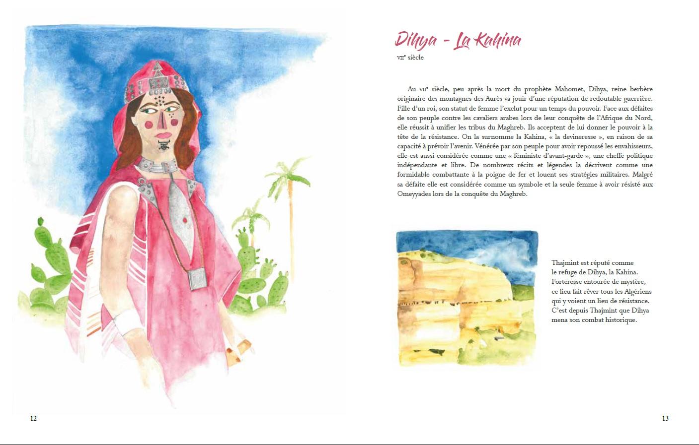 Figures algériennes par Halima Guerroumi
