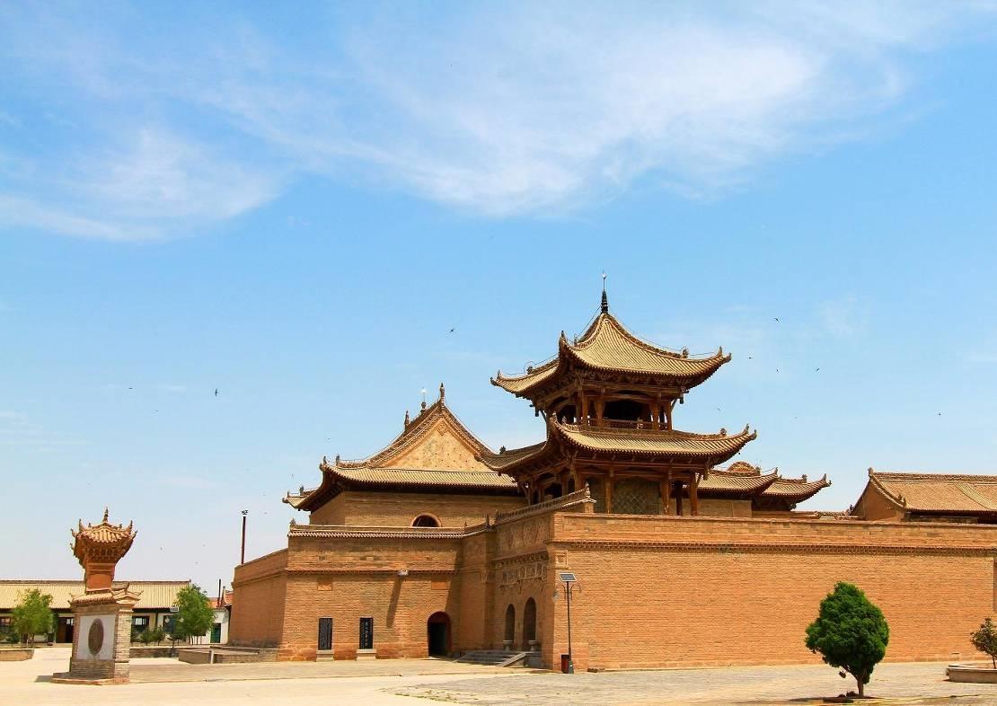 La grande mosquée de Tongxin. Crédit photo : François Dubé