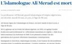 L'Islamologue Ali Mérad est mort (La Croix)