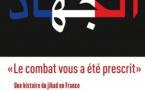 """""""Le combat vous a été prescrit"""" (Pierre Puchot et Romain Caillet)."""