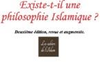 Existe-t'il une philosophie Islamique ? (Seconde édition, revue et augmentée) Avant propos.
