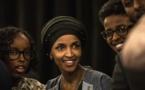 Ilhan Omar, une musulmane noire au Congrés américain.
